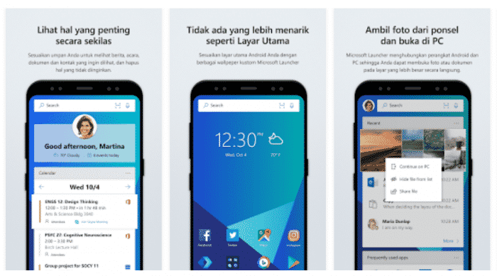 Arrow Launcher Microsoft Launcher