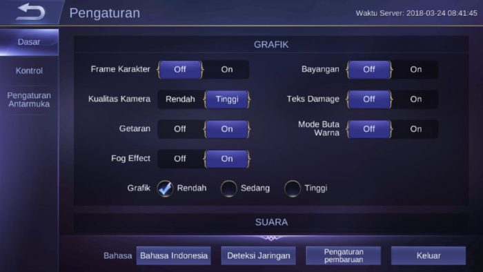 Cara Mengatasi Lag & Force Close Mobile Legends Keluar Sendiri