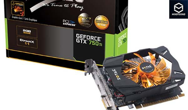 Zotac GTX 750 Ti OC 2GB DDR5