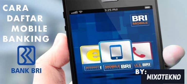 Cara Daftar Mobile Banking BRI 2019