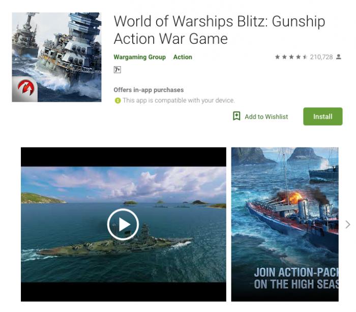 World of Warships Blitz-Gunship Action War Game
