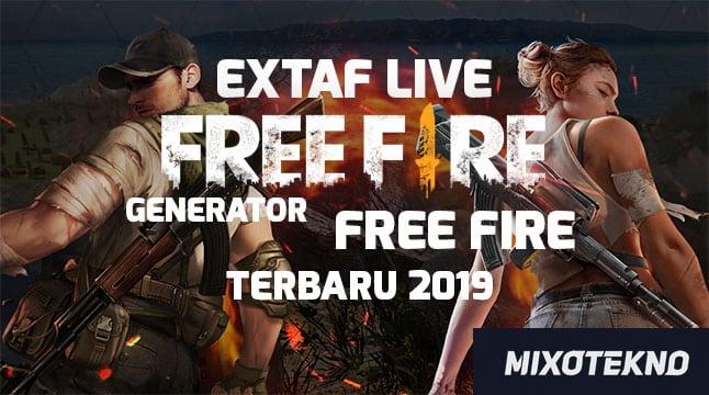Extaf Live Free Fire Terbaru