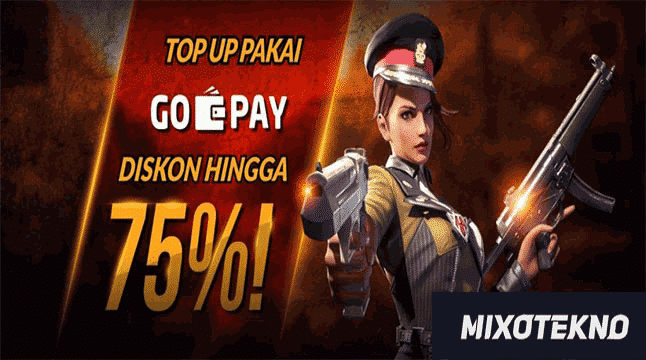Free Fire Go Pay Diskon