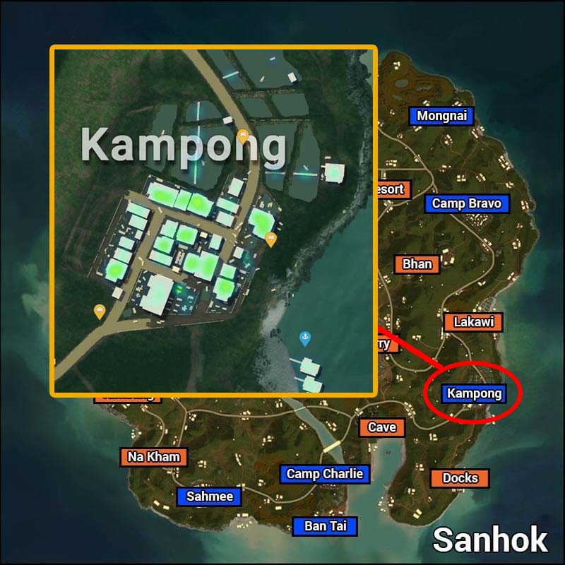 kampong PUBG