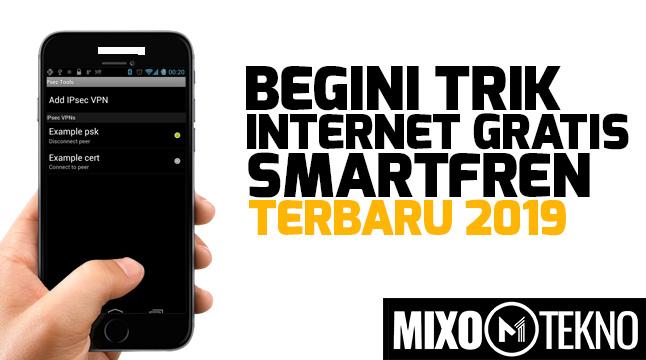 trik internet gratis smartfren 2019