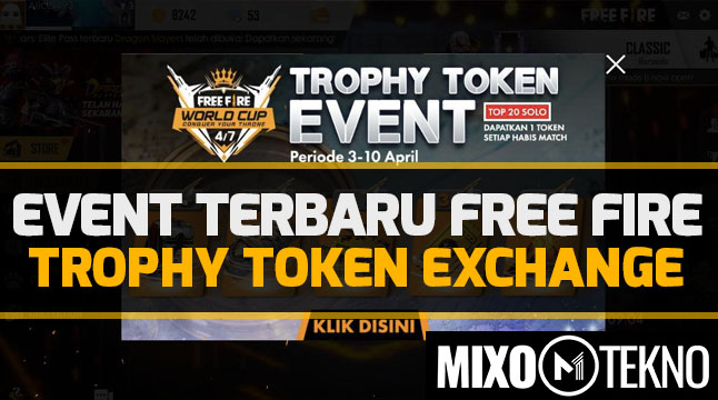 trophy token free fire