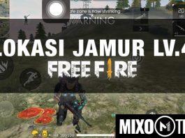 lokasi jamur level 4 free fire