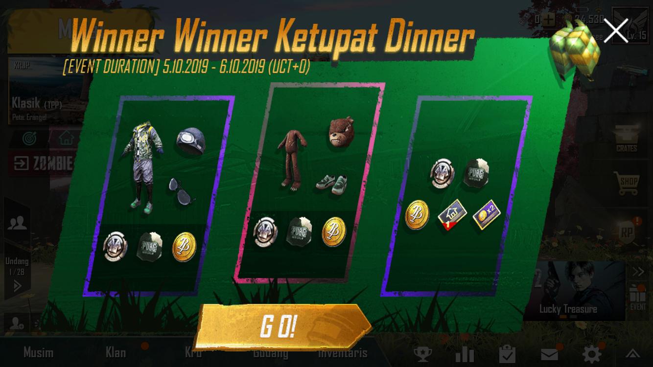winner winner ketupat dinner
