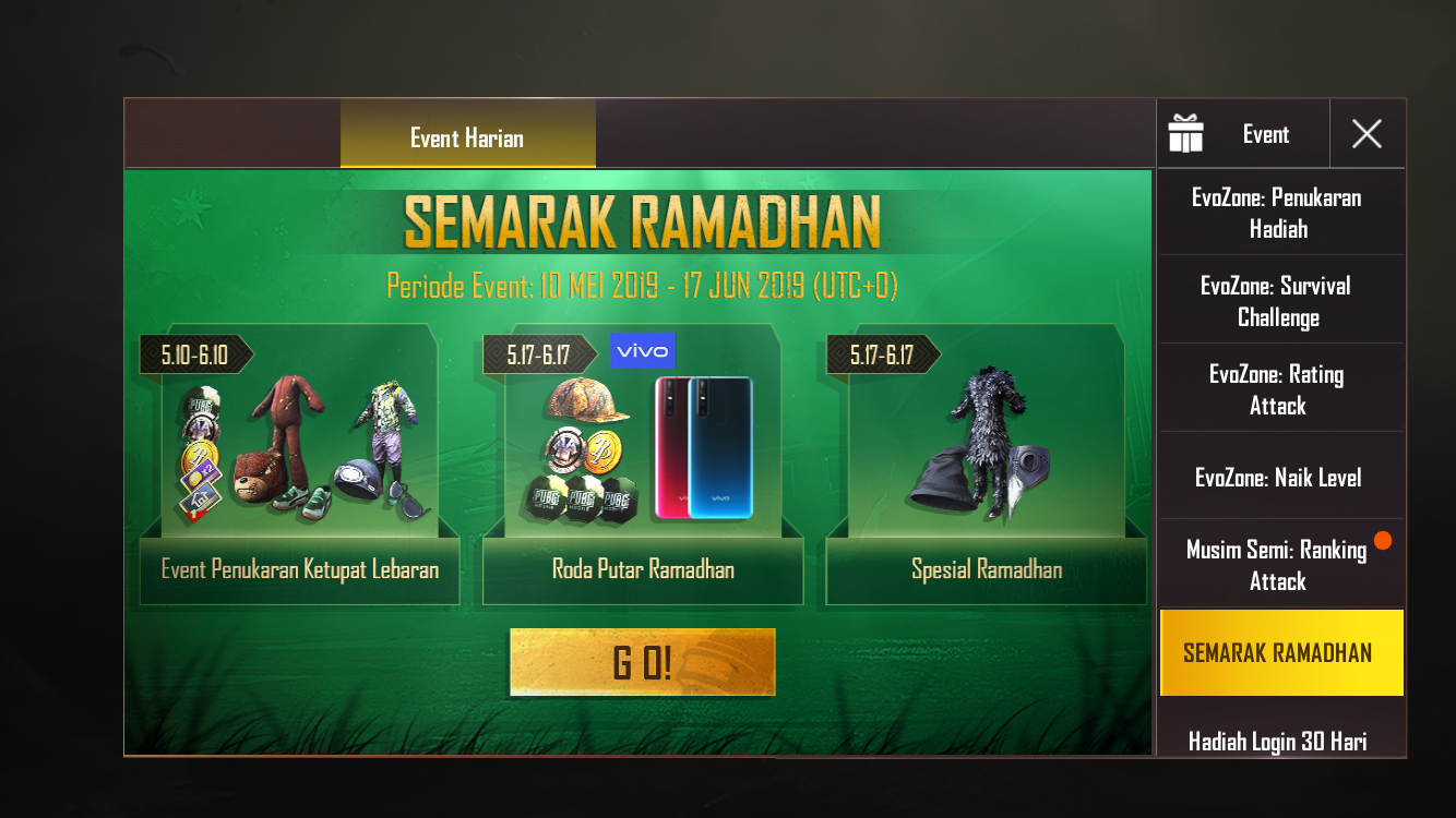 winner winner ketupat dinner pubg