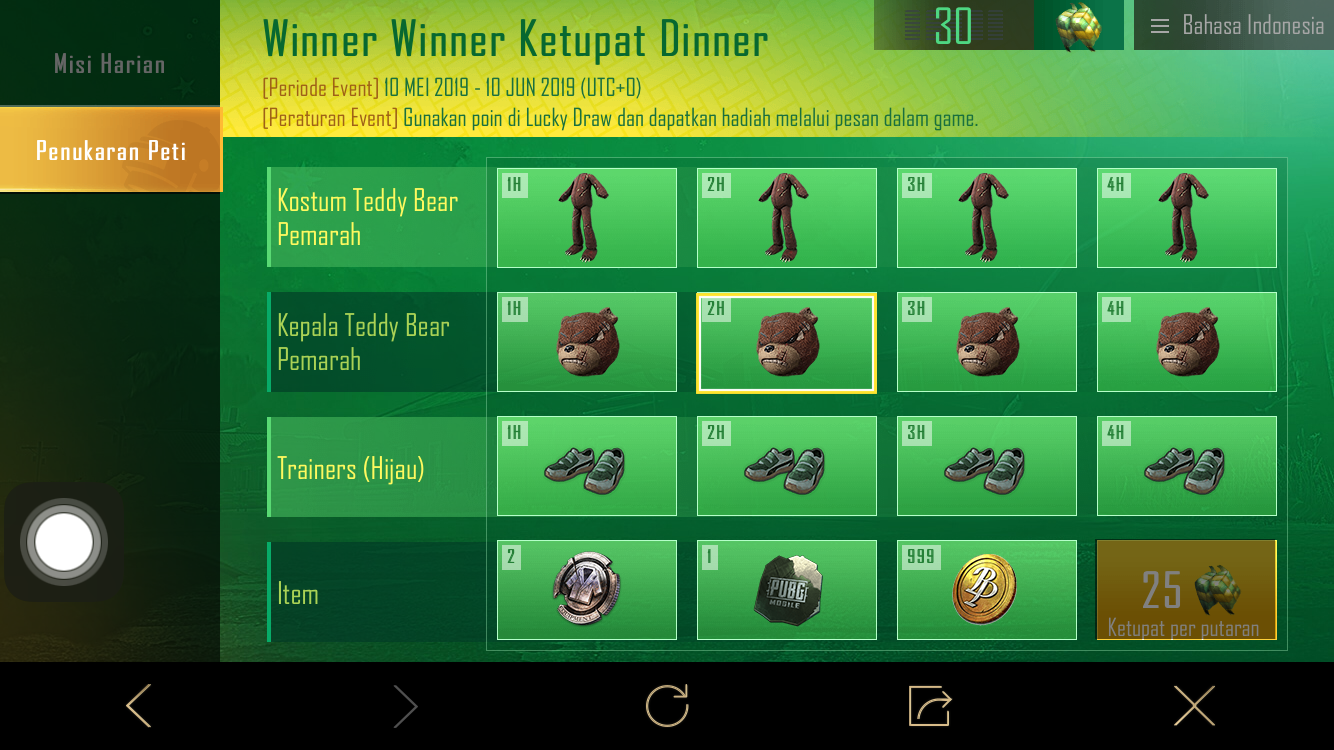 winner winner ketupat dinner
