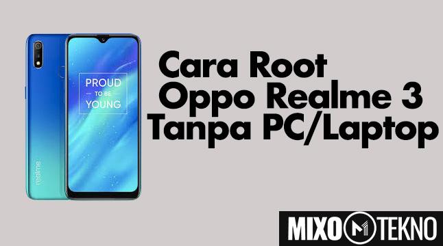 cara root realme 3