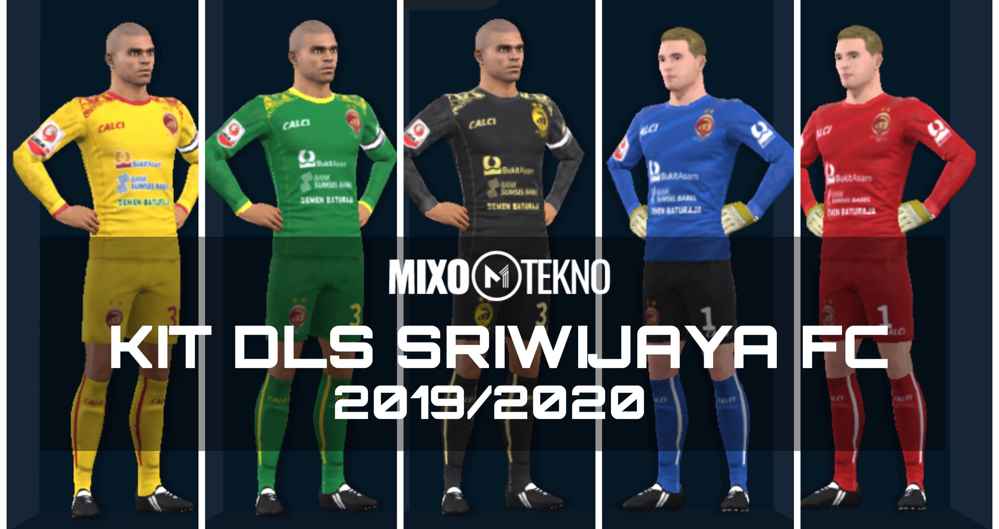 Kit DLS Sriwijaya FC 2019 2020 Liga 2