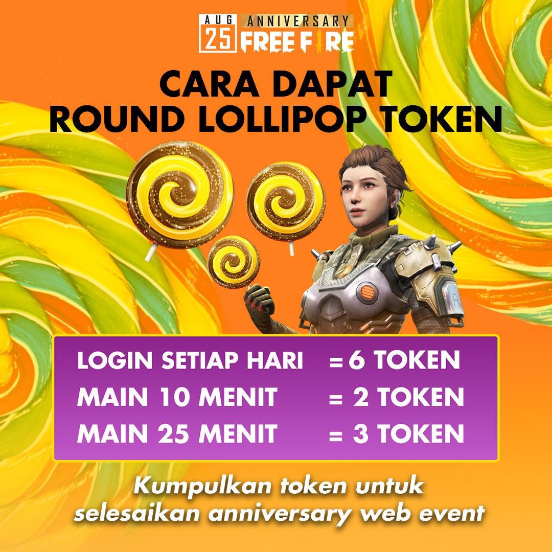 Event lollipop free fire