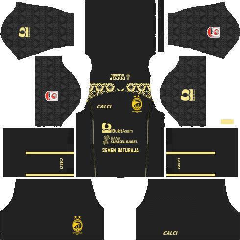 Kit DLS Sriwijaya FC 2019 2020