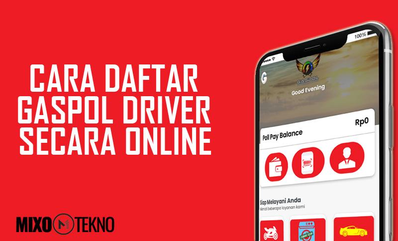 CARA DAFTAR GASPOL DRIVER ONLINE