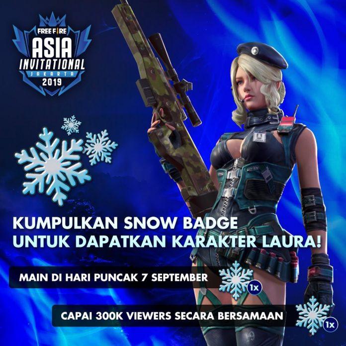Cara Mendapatkan Snow Badge Free Fire