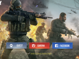 cara login call of duty mobile garena