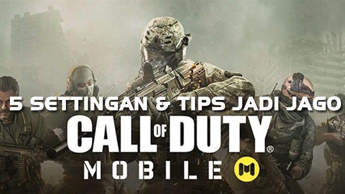 Settingan call of duty mobile terbaik - featured