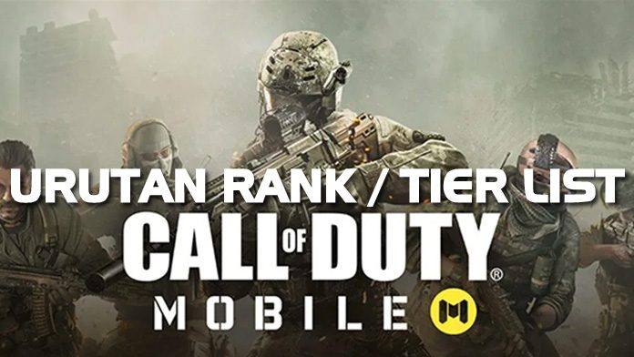 Urutan Rank Call Of Duty Mobile_featured