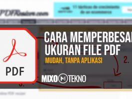 CARA MEMPERBESAR UKURAN FILE PDF MIXOTEKNO