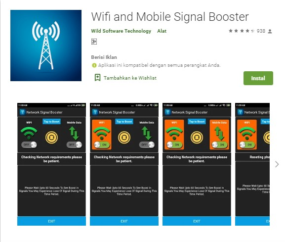 Wifi and Mobile Signal Booster