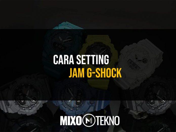 Cara Setting Jam G Shock