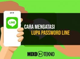 Mengatasi Lupa Password LINE