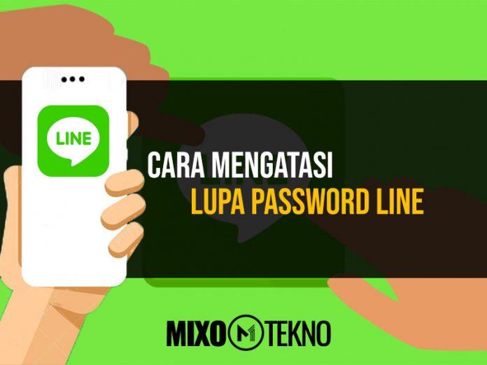 Mengatasi Lupa Password LINE