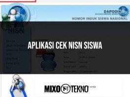 Aplikasi Cek NISN Siswa