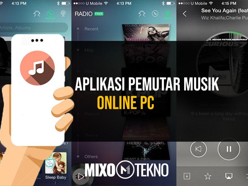 Aplikasi Pemutar Musik Online PC
