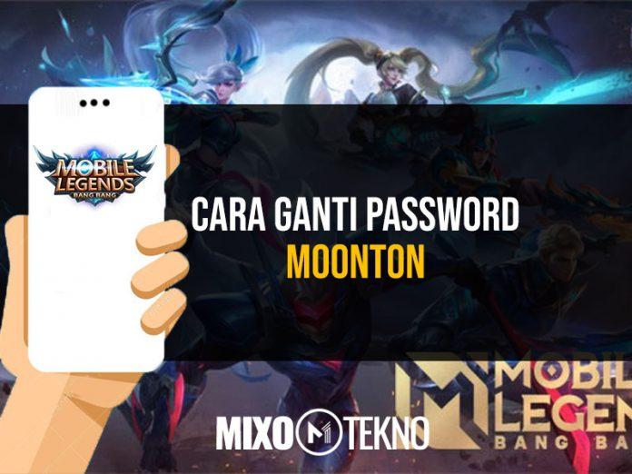 Cara Ganti Password Moonton