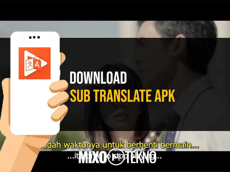 Download Sub Translate Apk